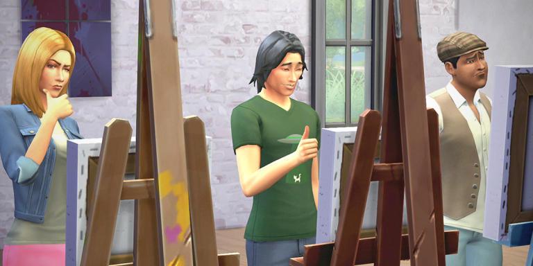 Les Sims 4.