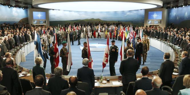 Sommet de l'OTAN le 4 septembre à Newport, Royaume-Uni.
