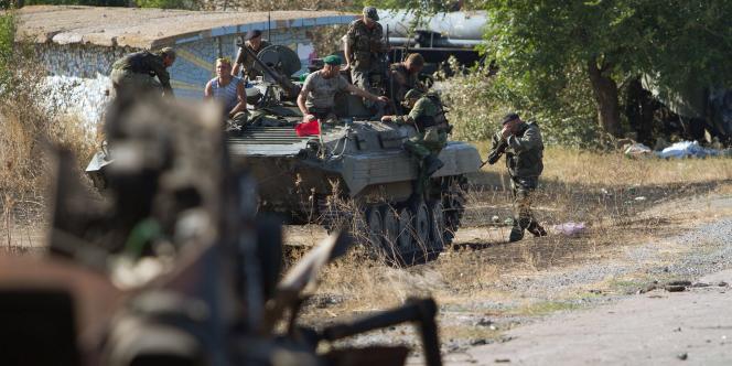 Un cessez-le-feu a été signé, le 5 septembre, pour mettre fin aux combats dans l'est de l'Ukraine.