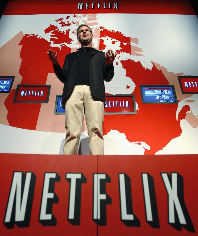 Reed Hastings, le PDG de Netflix, en septembre 2010, à Toronto.