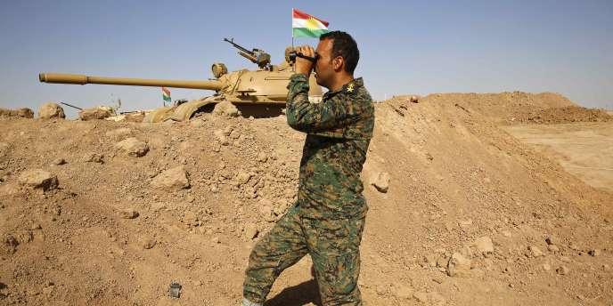 Un combattant peshmerga le 7 septembre 2014.