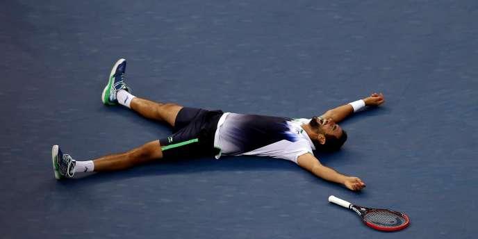 Marin Cilic a battu Kei Nishikori en trois set (6-3, 6-3, 6-3).