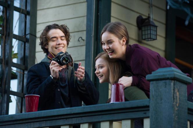 Jamie Blackley, Chloë Grace Moretz et Liana Liberato dans le film américain de R. J. Cutler,