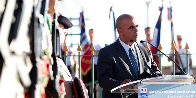 Le secrétaire d'Etat chargé des anciens combattants, Kader Arif, en août à Saint-Raphaël (Var).
