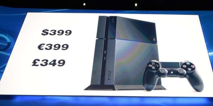 Présentation de la PS4, à l'E3 2013.