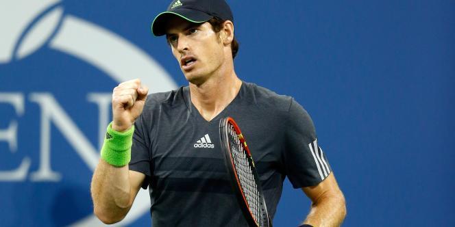 Le tennisman Andy Murray, le 3 septembre.