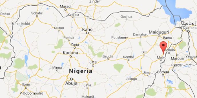 Localisation du village de Michika, au nord-est du Nigeria.