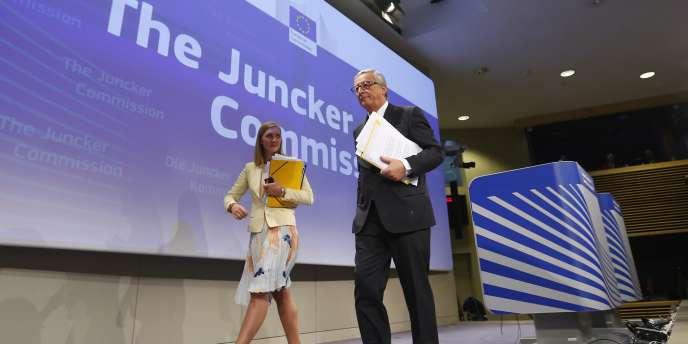 Le président de la Commission européenne, Jean-Claude Juncker, le 10 septembre à Bruxelles.