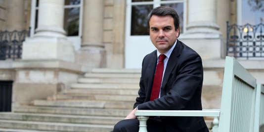 Thomas Thévenoud à l'Assemblée en 2012.