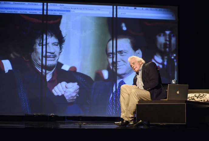 Jacques Weber dans la pièce