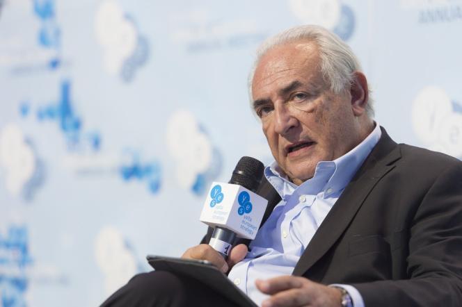 Dominique Strauss-Kahn, le 12 septembre à Kiev.