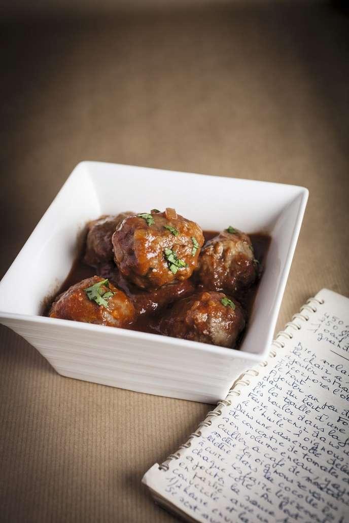 Les boulettes de viande de Déborah Dupont-Daguet.
