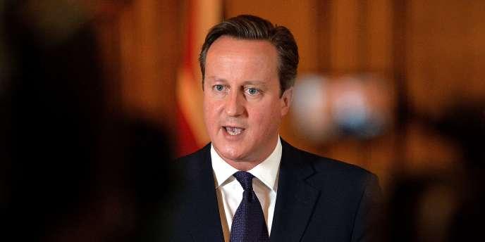 Le premier ministre britannique David Cameron le 14 septembre.