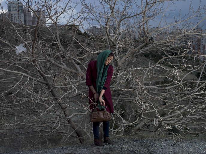 Photographie de Newsha Tavakolian extraite de son projet intitulé