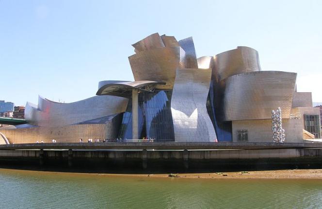 Le musée Guggenheim de Bilbao, en Espagne.