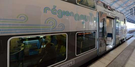 Une précédente réalisation de Bombardier : le train régional passant par Arcachon.