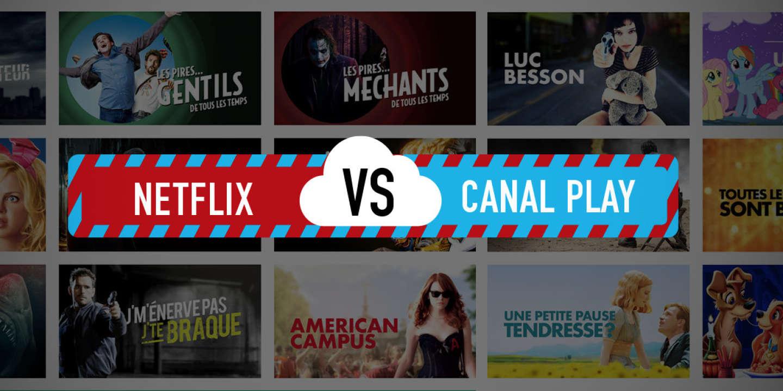 Netflix VS CanalPlay.