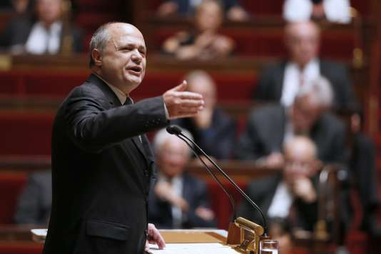 Bruno Le Roux à l'Assemblée nationale le 16 septembre 2014.