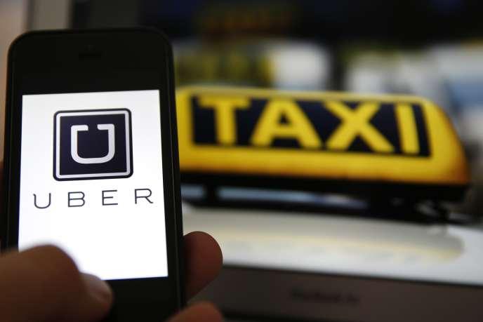 Le succès de l'application Uber met en colère les taxis.