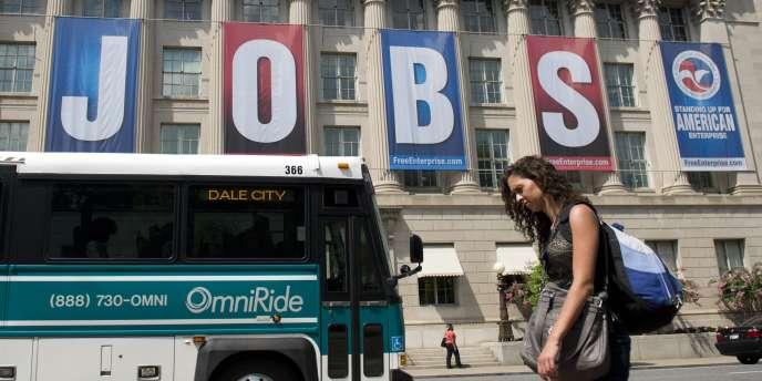 Le recul régulier du taux de chômage américain au cours de l'année 2013 n'a pas fait reculer les inégalités de revenus.