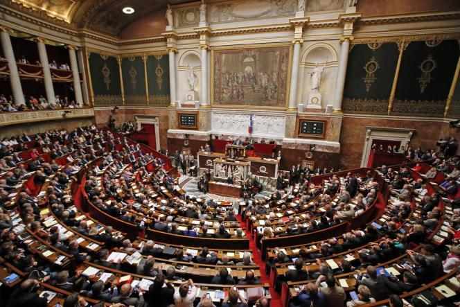 Les députés, à l'Assemblée nationale, en décembre2015.