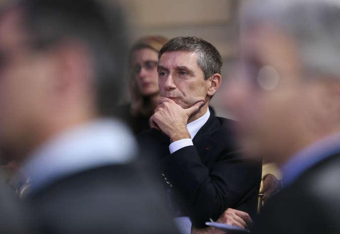 Frédéric Péchenard en janvier 2013 au ministère de l'intérieur.