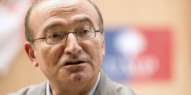 Le député UMP Hervé Mariton, candidat à la présidence de l'UMP.