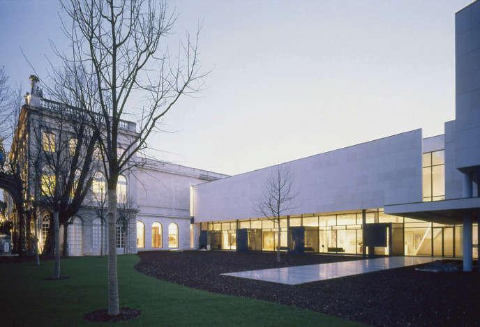 L'extension du Musée des beaux-arts de Nancy.