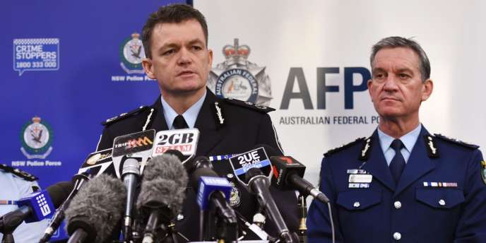 La police australienne a annoncé l'arrestation de 15 personnes soupçonnées de vouloir