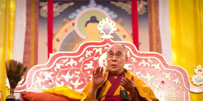 Le dalaï-lama lors d'une cérémonie à Hambourg, le 26 août.