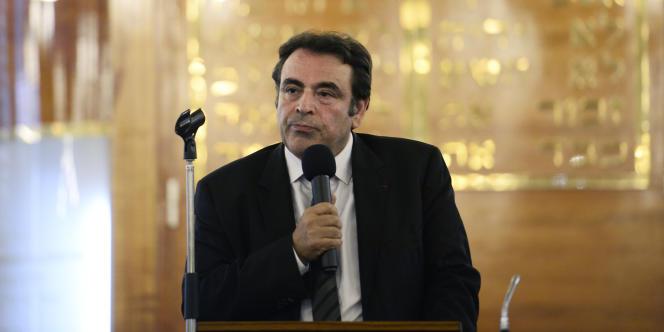 Joël Mergui, le président du Consistoire central, le 21 juillet à Paris.