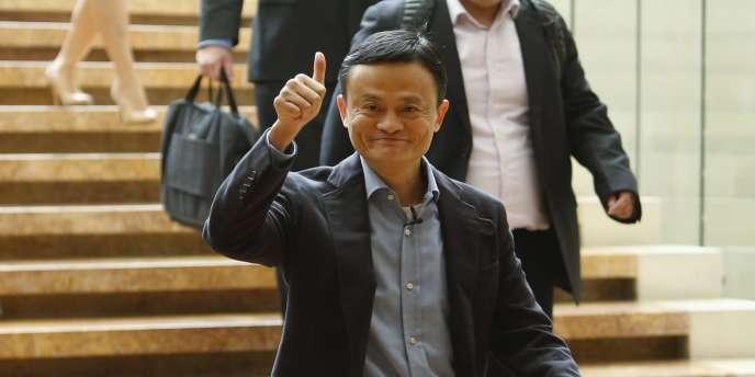 Le fondateur du géant du commerce en ligne chinois Alibaba, Jack Ma.