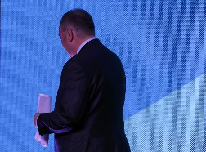 Alex Salmond après son discours, le 19 septembre.