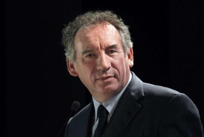 François Bayrou, en février 2012.
