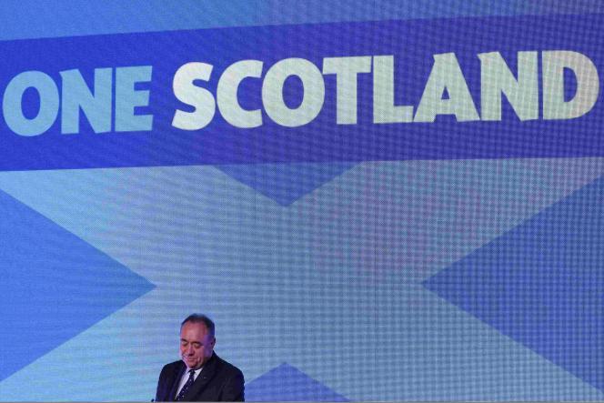 Le premier ministre écossais Alex Salmond a reconnu la défaite du oui au référendum sur l'indépendance de l'Ecosse.