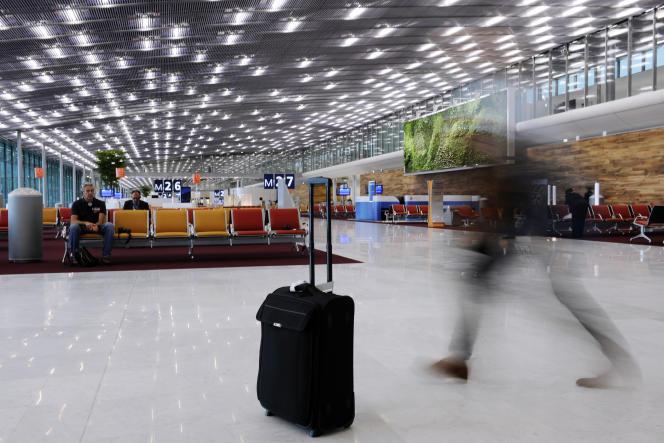 A l'aéroportRoissy-Charles-de-Gaulle, en 2012.
