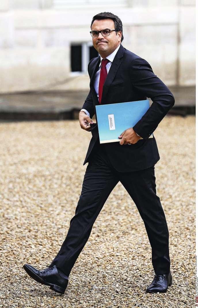Thomas Thévenoud n'est resté que neuf jours secrétaire d'Etat chargé du commerce extérieur. A défaut de bilan, sa formule choc,