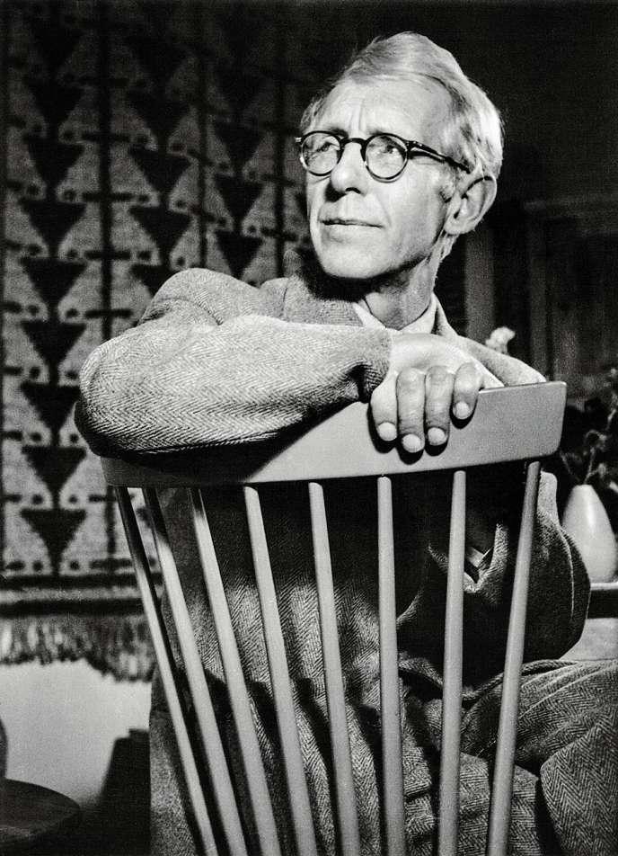 La chaise Lilla Aland, créée en 1942 par le designer suédois Carl Malmsten,  est rééditée aujourd'hui en modèle enfant. Photo: Lars Engelhardt, PEW