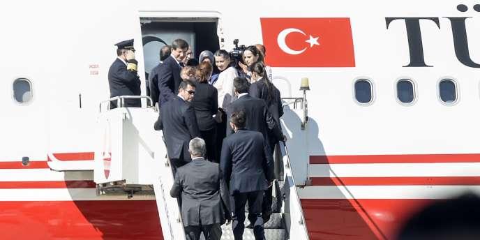 Les 49 citoyens turcs enlevés en juin par les djihadistes de l'Etat islamique ont été libérés, samedi 20 septembre.