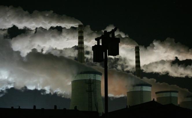 Une centrale à charbon à Datong, en Chine.