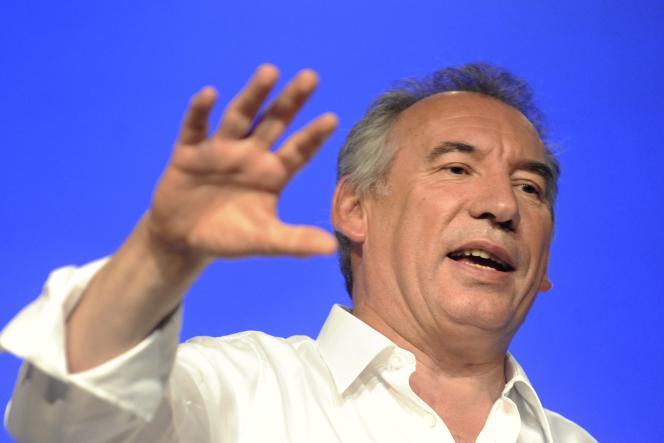 Le président du Modem et maire de Pau, François Bayrou, le 21 septembre 2014.