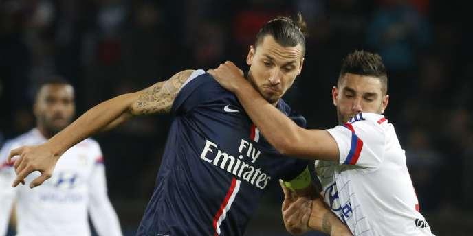 Zlatan Ibrahimovic n'avait plus disputé le moindre match avec le PSG depuis la réception de l'Olympique lyonnais, le 21 septembre.