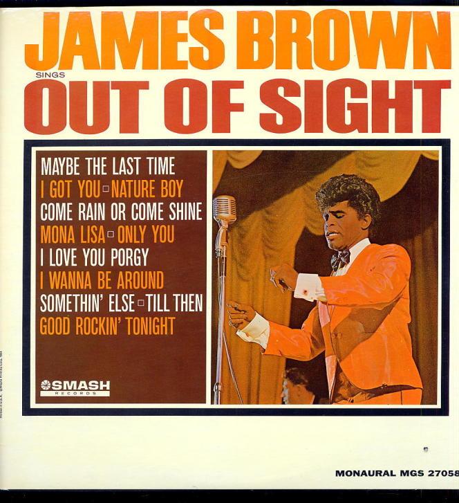 Pochette de l'album  « Out of Sight », 1964.