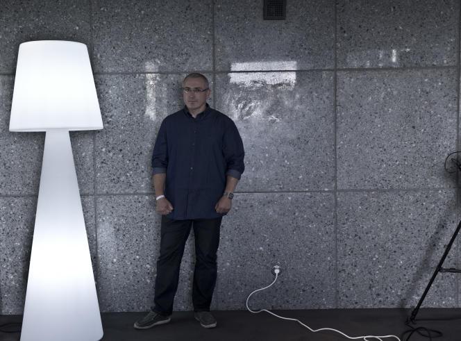 Mikhaïl Khodorkovski, à Paris le 20 septembre.
