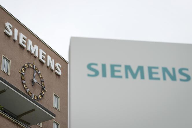 Des locaux Siemens à Erlangen, dans le sud de l'Allemagne.