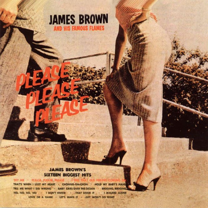 Pochette de l'album « Please Please Please », 1959.