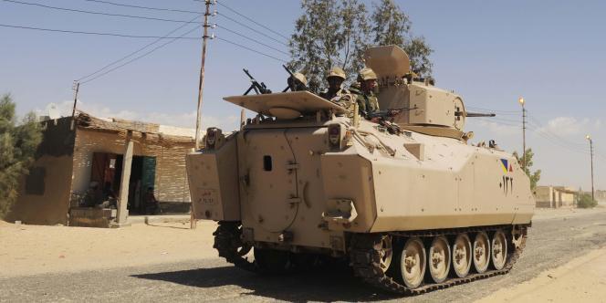Un attentat a fait plusieurs dizaines de morts dans le Sinaï égyptien, vendredi24octobre.
