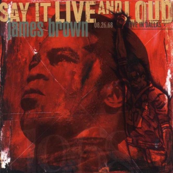 Pochette de l'album  « Say It Live and Loud », 1998.