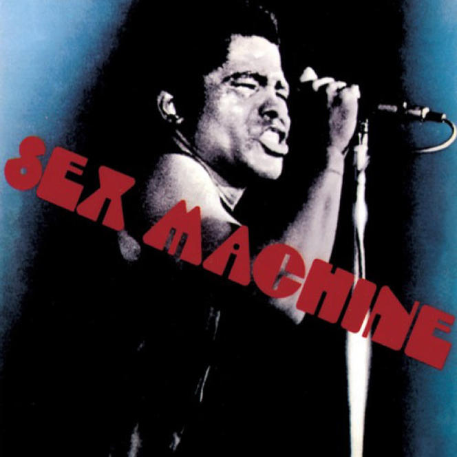 Pochette de l'album  « Sex Machine », 1970.