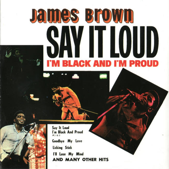 Pochette de l'album  « Say It Loud, I'm Black and I'm Proud », 1968.